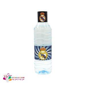 لیبل آب معدنی تم تولد رئال مادرید