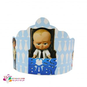 تاج تم تولد بچه رئیس