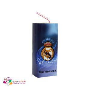 لیبل آبمیوه پاکتی تم تولد رئال مادرید