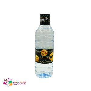 لیبل آب معدنی با طرح اموجی
