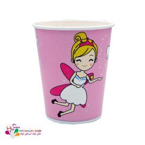 لیوان با طرح جشن دندونی دخترونه