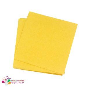 دستمال معمولی زرد