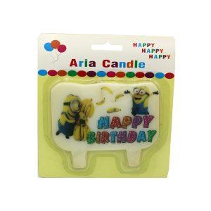 شمع تم تولد مینیون ها