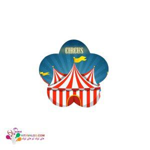 استیکر تم تولد سیرک