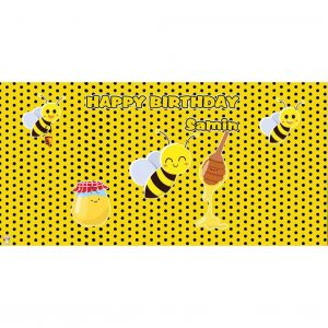 بنر مستطیل طرح زنبور