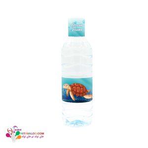 لیبل آب معدنی تم تولد اقیانوس