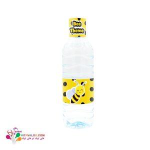 لیبل آب معدنی تم تولد زنبور