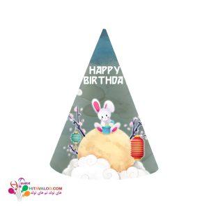 کلاه تم تولد خرگوش