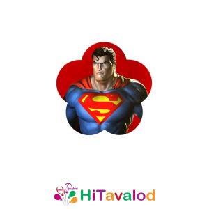 استیکر تم تولد سوپرمن