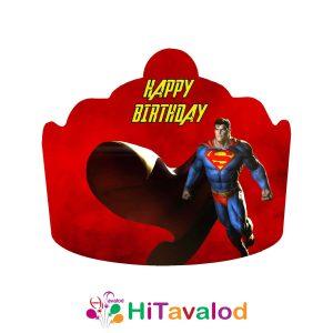 تاج تم تولد سوپرمن