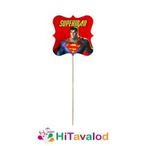 تاپر بلند تم تولد سوپرمن