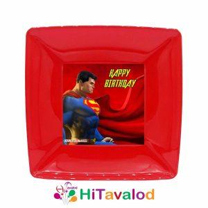 پیش دستی تم تولد سوپرمن