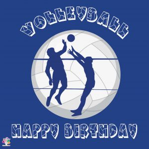 بنر تولد تم والیبال