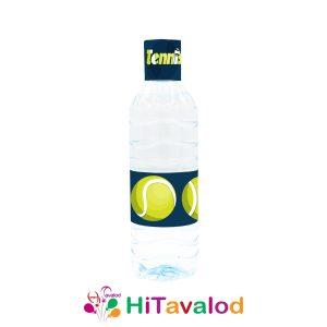 لیبل آب معدنی تم تنیس