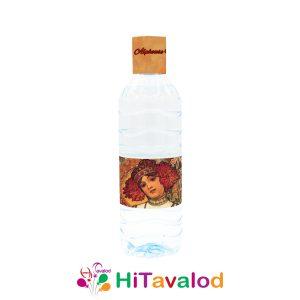 لیبل آب معدنی تم آلفونس موخا