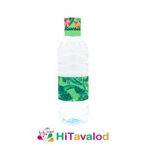 لیبل آب معدنی تم هاوایی