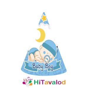 کلاه تم نوزادی پسر