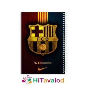 دفتر خط دار بارسلونا